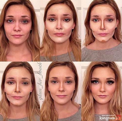 cách làm thon mặt