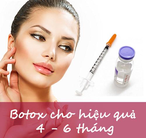 Tiêm botox giữ được bao lâu 1
