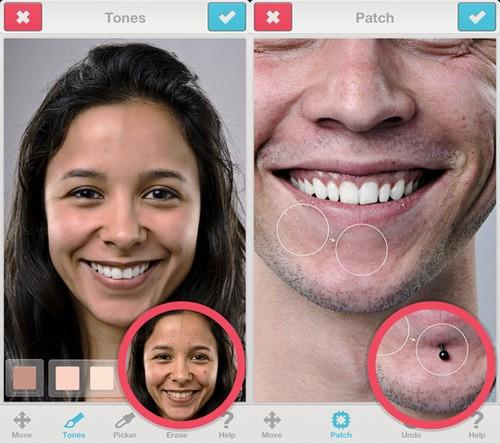 ứng dụng chỉnh sửa khuôn mặt cho android