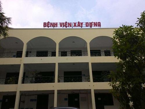 bệnh viện xây dựng hà nội