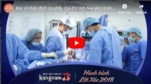 Video nguyễn hoàng oanh phẫu thuật thẩm mỹ