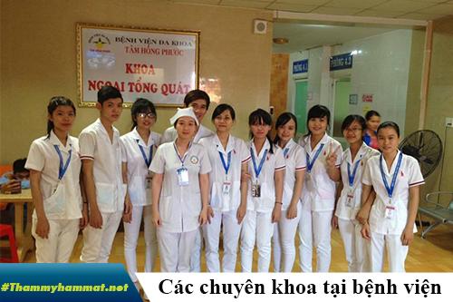 bệnh viện tâm hồng phước biên hòa