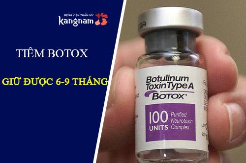tiêm botox thon gọn hàm có hại không