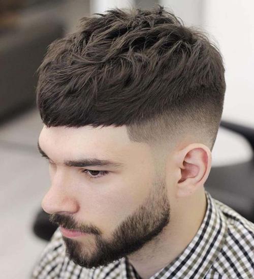 mặt dài nên cắt tóc gì nam